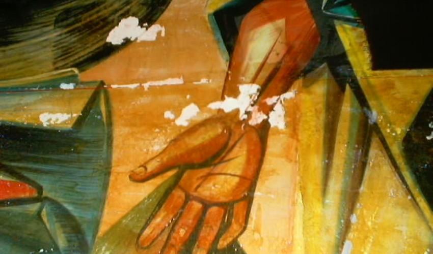 Mural de Estrela Faria, 2003