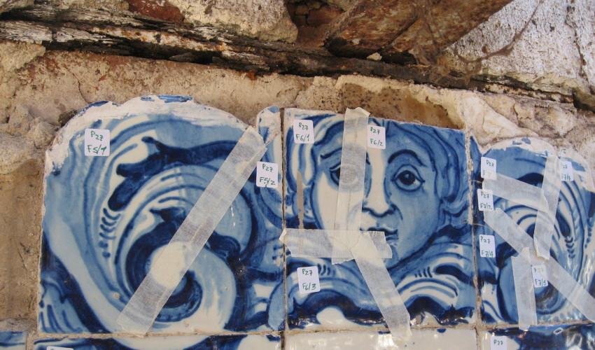 Painéis de azulejo Herdade de Rio Frio, 2014